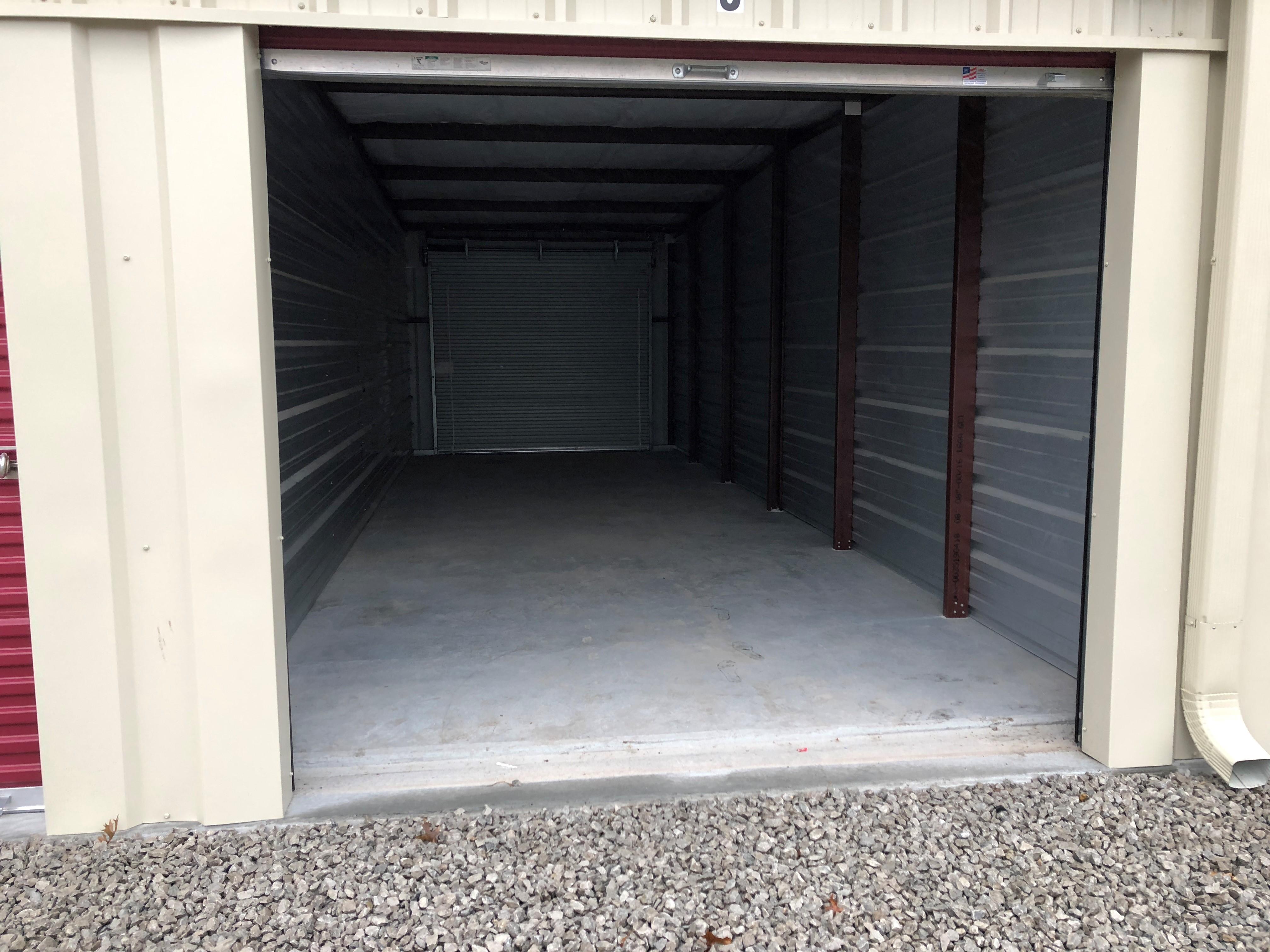 10by30 unit closed door